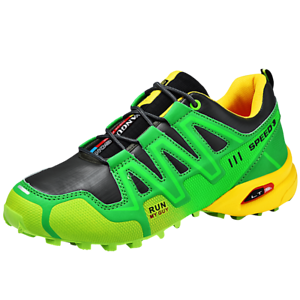 Men-039-s-Hiking-Mountain-Outdoor-Trail-Trekking-Breathable-Climbing-Shoes-Sneakers