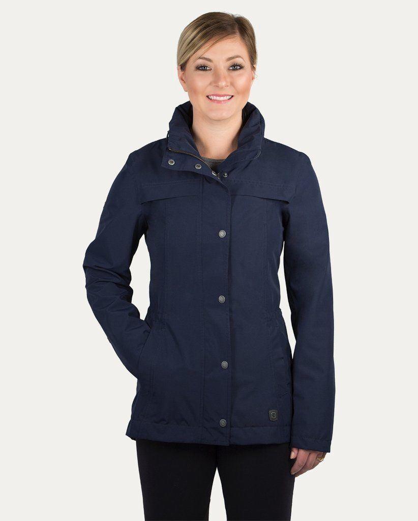 Noble Outfitters  Cheval Mujer Chaqueta Impermeable con Capucha plegable  la calidad primero los consumidores primero