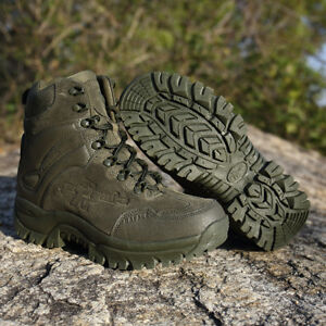 8c0a526f481 Men's Good Quality Military Boots Desert Army Hiking Shoes Safety ...