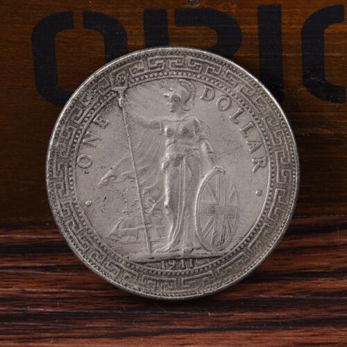 1911 One Yuan Tibetan Warrior Ancient Silver Dollar Coins Gift Crafts