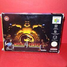 VINTAGE NINTENDO 64 N64 MORTAL KOMBAT 4 CARTRIDGE VIDEO GAME PAL VERSION BOXED