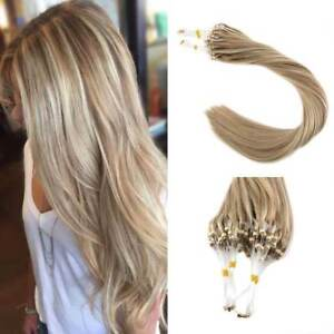 human hair extensions micro loop