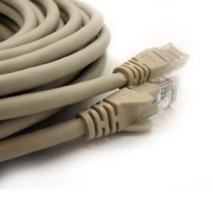 0.5M 40M Meter CAT6e RJ45 Internet Ethernet Cable Network Modem LAN Wholesale