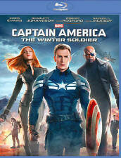 Captain America: The Winter Soldier (Blu-ray Disc, 2014)  *New/Free Freight*