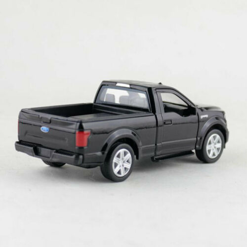 1:36 Ford F-150 Pick-up Truck Model Diecast Gift Toy Vehicle Kid Pull Back Black