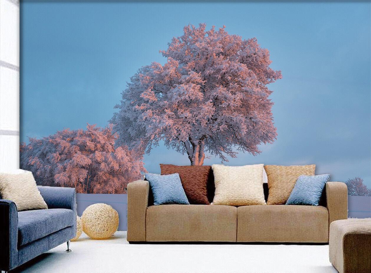 3D Tree Sky Road 5 Wallpaper Murals Wall Print Wallpaper Mural AJ WALLPAPER UK