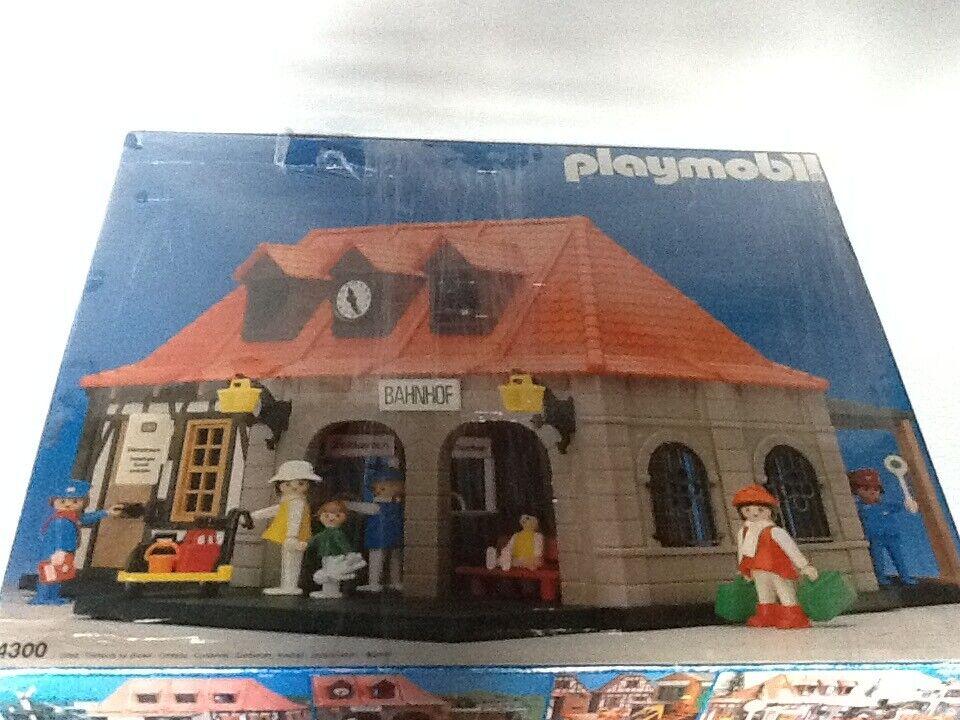 Playmobil treinstation  bahnhof 4300 4001 4305 4052 4111 4051 4101 4104 5300 nouveau  meilleure qualité meilleur prix