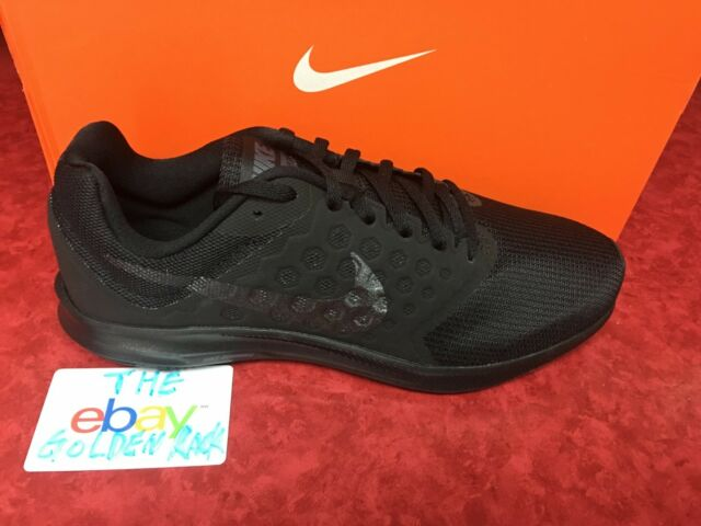 a71c776049a8c Nike Men s Downshifter 7 Running Shoes Black Black 852459-001 Sizes 9.5-10.5