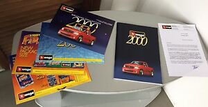 Vintage # burago Bburago Catalogue 2000 Catalogue Update Rare
