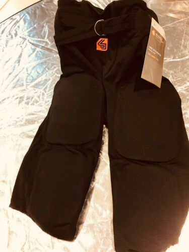 Shock Doctor Youth Core Integrated Football Pant Black Sz Boys M-Lg NWT