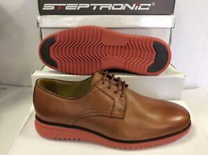 8 42 Steptronic Leather Shoes Cognac Eur Uk Men's Size Cooper nww01pqCH