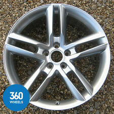 "1 x NEW GENUINE AUDI A7 A8 19"" 5 TWIN SPOKE S LINE ALLOY WHEEL 4H0601025R 4H 4GA"