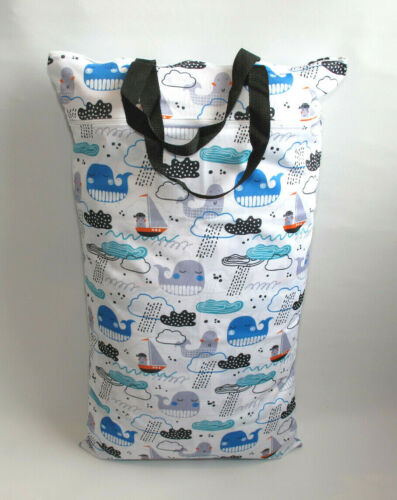 Baby Nappy Pail for Reusable Nappies Pads Wipes *UK* Extra Large XL Wet Bag