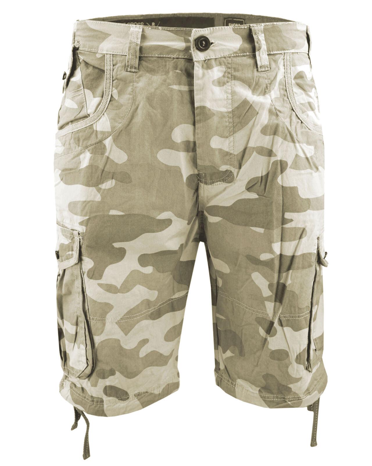 Crosshatch da uomo pantaloncini ryehill MIMETICI COMBATTIMENTO COMBATTIMENTO COMBATTIMENTO Pantaloni corti 8de9b2