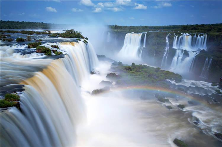Iguazu Falls Largest Waterfalls Full Wall Mural Photo Wallpaper Print Home 3D De