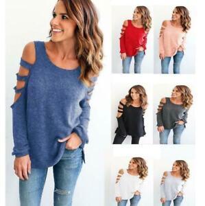 Fashion-Women-Ladies-Loose-Casual-Long-Sleeve-T-Shirt-Cotton-Blouse-Tops-T-Shirt