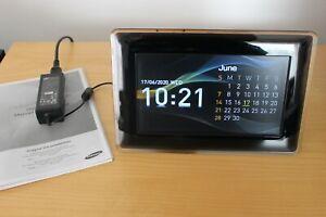 Samsung SPF-87H Digitaler Bilderrahmen 8 Zoll schwarz LCD4Linux VU+