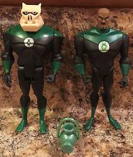 DC Justice League JLU Loose Green Lantern John Stewart & Kilowog Lot