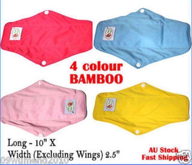 Reusable MAMA Bamboo Cloth Heavy Flow / Night / Maternity Sanitary Pad Towel