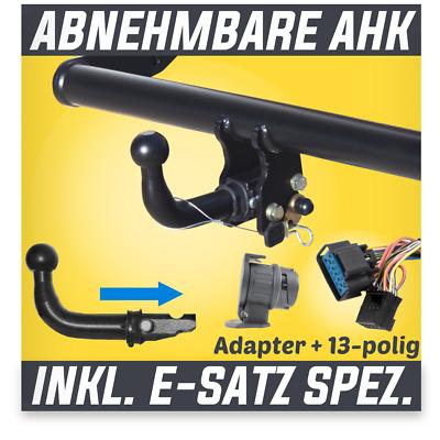 Für Skoda Karoq ab 17 Anhängerkupplung abnehmbar+ES 13p ...