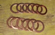 Engine Oil Drain or Turbo Bango Washer 14x20x1.5mm Copper Washer 6 Seals M14