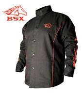Revco Stryker Fr Flame Resistant Cotton Welding Jacket Size Small