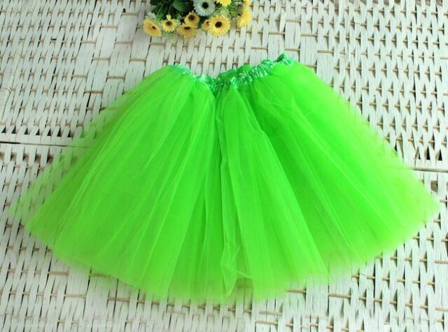 Pettiskirt Tutu Women Skirt Organza Ballet Adult Party Girls Dance Petticoat New