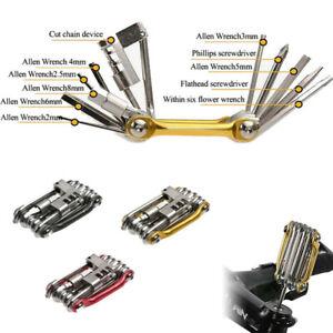 11-en-1-velo-Hex-Spoke-Wrench-Tournevis-velo-reparation-outil-multi-fonction-Kit