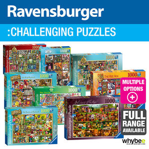 Ravensburger Adult Jigsaw Puzzles Challenging - 17 designs to choose from!