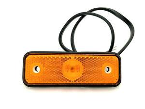 Begrenzungsleuchten Umrißleuchte LKW Anhänger Orange LED 12V 24V