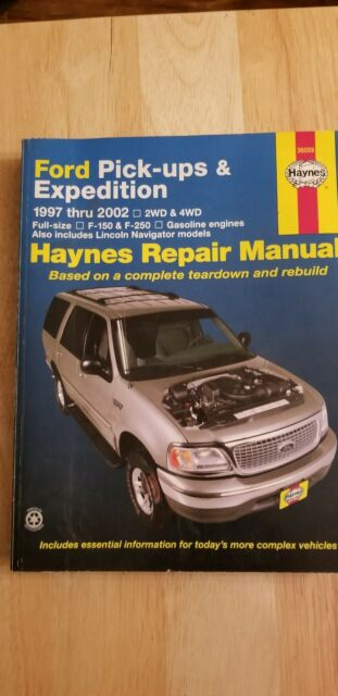 Parts Accessories 2000 Ford Expedition Haynes Online Repair Manual Select Access
