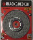 Black & Decker 70-614 6 In. Crimped Wire Wheel Fine Bench Grinder