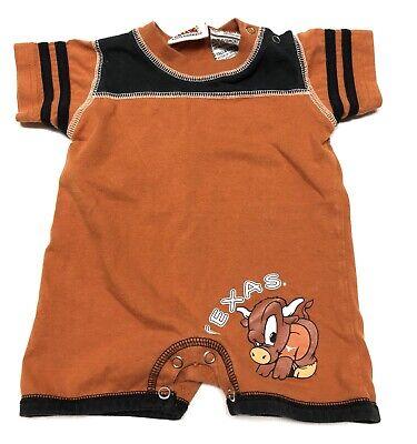 Texas Longhorns Bevo Full Zip Hoodie Boys Girls Infant Size 9 Months NWT  #32