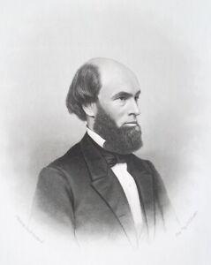 RICHARD-EDWARDS-Wales-Born-Illinois-Teacher-Preacher-1876-Portrait-Print