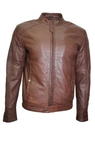 de Gregor Biker marrón cuero chaqueta hombre de estilo Elegante estilo para Nappa suave chaqueta BESqp