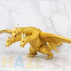 Godzilla-King-of-The-Monsters-Three-headed-Dragon-King-Ghidorah-Figure-Toy-Gift