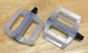 """NEW ALLOY WHITE 9//16/"""" Axle Plat Form Pedal for Track Fixie BMX MTB Bike Bicycle"""