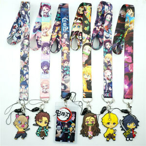 Stitch Lanyard Neck Straps Charms Cell Phone Rope Anime Cartoon Keychain Gift