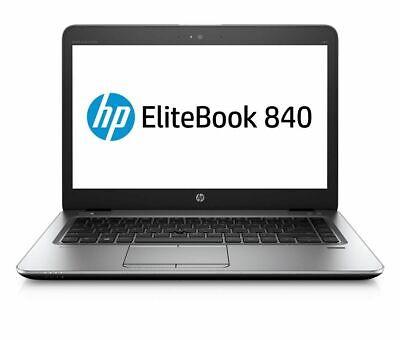 """2019 Moda Hp Elitebook 840 G3 8gb Ddr4 256gb Ssd 14"""" Laptop I5-6300u Win 10- Eppure Non Volgare"""