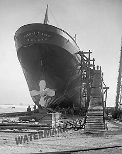 Photograph-of-the-Steamship-Thomas-F-Cole-of-Duluth-Year-1907-11x14