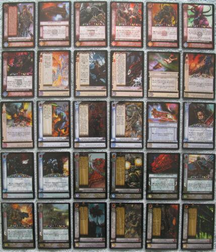 Dark Millennium Warhammer 40K CCG Hope/'s Twilight Rare Cards WH40k