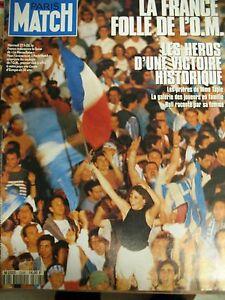 Paris-Match-No-No-2298-Football-Victory-Marseille-Cup-Europe-1993-Boli-Carpet