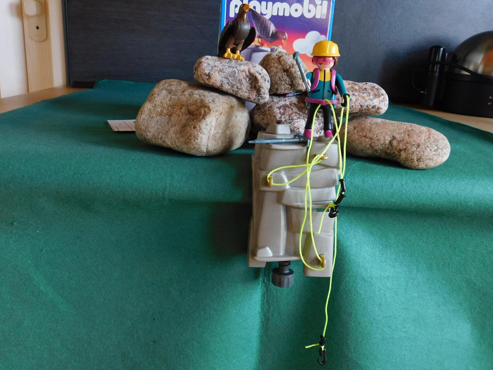 Playmobil Rarität Bergsteiger 3842-A 1996 Komplett-Set mit BA und OVP