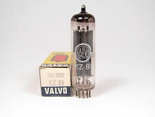 1 x NOS EZ81-VALVO MADE BY MULLARD BLACKBURN-OWN BOX