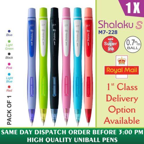 1 X Uni-Ball Shalaku M7-228 0.7mm Mechanisch Bleistift 6 Verschiedene Körper