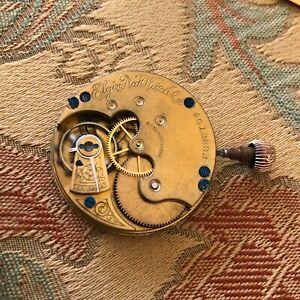 Elgin Pocket Wach Movement - 6 Size - Grade 95 - Hunting - C. 1893 RUNNING (E6)