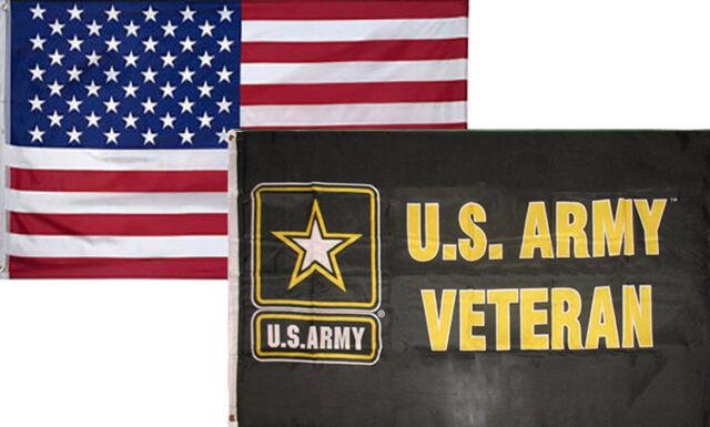 3/' X 5/' 3x5 USA Flag American Flag US Army Veteran Flag WHOLESALE LOT