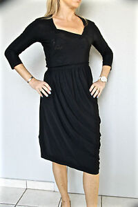 vestido-sexy-negro-M-amp-F-GIRBAUD-breeze-atrapasuenos-T-38-ETIQUETA-valorada-en
