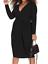 Indexbild 1 - Schmeichelhaft Simply Be funkelnd Glitzer schwarz Kleid Plunge Ausschnitt Bnwt Party Größe 22