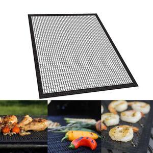 Accessories Non-stick BBQ Tools Grill Mats Mesh Pad Coverage Barbecue Mat